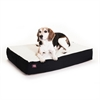 Majestic 24x34 Black Orthopedic Double Pet Bed By Majestic Pet Products-Medium