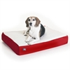 24x34 Red Orthopedic Double Pet Bed By Pet Products-Medium