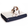 24x34 Blue Orthopedic Double Pet Bed By Pet Products-Medium