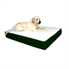24x34 Green Orthopedic Double Pet Bed By Pet Products-Medium