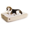 Majestic 24x34 Khaki Orthopedic Double Pet Bed By Majestic Pet Products-Medium