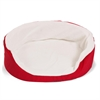 28x21 Red Lounger Pet Bed By Pet Products-Medium