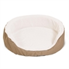28x21 Khaki Lounger Pet Bed By Pet Products-Medium