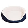36x24 Blue Lounger Pet Bed By Pet Products-Large