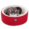 "16"" Red Cat Cuddler Pet Bed By Pet Products"