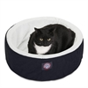 "Majestic 20"" Black Cat Cuddler Pet Bed By Majestic Pet Products"