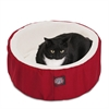 "Majestic 20"" Red Cat Cuddler Pet Bed By Majestic Pet Products"