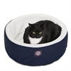 "Majestic 20"" Blue Cat Cuddler Pet Bed By Majestic Pet Products"