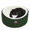 "Majestic 20"" Green Cat Cuddler Pet Bed By Majestic Pet Products"