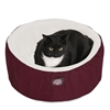 "Majestic 20"" Burgundy Cat Cuddler Pet Bed By Majestic Pet Products"