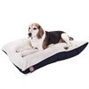 30x40 Blue Rectangle Pet Bed By Pet Products-Medium