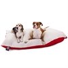 Majestic 42x60  Red Rectangle Pet Bed By Majestic Pet Products-Extra Large