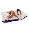 42x60 Blue Rectangle Pet Bed By Pet Products-Extra Large