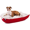 Majestic 36x48  Red Rectangle Pet Bed By Majestic Pet Products- Large