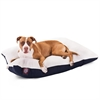 Majestic 36x48  Blue Rectangle Pet Bed By Majestic Pet Products- Large