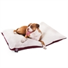 Majestic 36x48  Burgundy Rectangle Pet Bed By Majestic Pet Products- Large