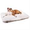 36x48 Khaki Rectangle Pet Bed By Pet Products- Large