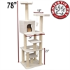 """78"""" BUNGALOW - SHERPA By Pet Products"""
