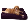 Aubergine Villa Collection Extra Large Rectangle Pet Bed