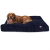 Navy Villa Collection Extra Large Rectangle Pet Bed
