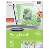 Wilson Jones Side/Top Loading EasyLoad Sheet Protectors, Letter, 25/Pack