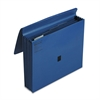 "Wilson Jones ColorLife 5 1/4"" Expansion File, Five Pockets, Letter, Dark Blue"