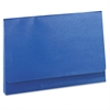 "ColorLife 3"" Expansion Wallets with Velcro Gripper, Legal, Dark Blue"