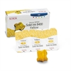 Xerox 108R00607 Solid Ink Stick, 1,133 Page-Yield, 3/Box, Yellow
