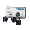 Xerox 108R00726 Solid Ink Stick, 3400 Page-Yield, 3/Box, Black