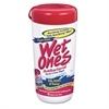 Wet Ones Antibacterial Moist Towelette, Cloth, 5 3/4 x 7 1/2, White, 40/Dispenser