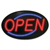 Newon Newon LED Sign, Red/Blue, 13 x 21