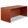 Alera Valencia Series Straight Front Desk Shell, 65w x 29 1/2d x 29 5/8h, Cherry