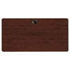 Alera Valencia Series Training Table Top, Rectangular,47-1/4w x 23-5/8d,Mahogany