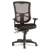 Alera Alera Elusion Series Mesh High-Back Multifunction Chair, Black