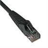 Tripp Lite CAT6 Snagless Molded Patch Cable, 1 ft, Black