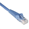 Tripp Lite CAT6 Snagless Molded Patch Cable, 1 ft, Blue