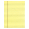 TOPS The Legal Pad Glue Top Pads, Legal/Wide, 8 1/2 x 11, Canary, 50 Sheets, Dozen