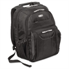 "Targus Zip-Thru Air Traveler Backpack, Fits 16"" Widescreen Laptop, Polyester, Black"