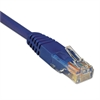 Tripp Lite N002-002-BL 2ft Cat5e 350MHz Molded Cable RJ45 M/M Blue, 2'