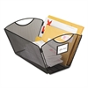 Onyx Mesh Desktop Tub File Storage Box, Legal, Black