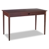 Safco Apres Table Desk, 48w x 24d x 30h, Mahogany