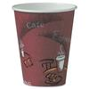 SOLO Cup Company Bistro Design Hot Drink Cups, Paper, 8oz, Maroon, 500/Carton