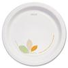 "Bare Paper Eco-Forward Dinnerware, 8 1/2"" Plate, Green/Tan, 250/Carton"