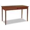 Safco Apres Table Desk, 48w x 24d x 30h, Cherry