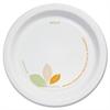 """SOLO Cup Company Bare Paper Eco-Forward Dinnerware, 6"""" Plate, Green/Tan, 500/Carton"""