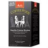 Melitta Coffee Pods, Vanilla Crème Brulee, 18 Pods/Box