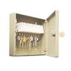 """Uni-Tag Key Cabinet, 10-Key, Steel, Sand, 6 7/8"""" x 2"""" x 6 3/4"""""""