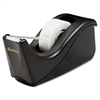 "Scotch Value Desktop Tape Dispenser, 1"" Core, Two-Tone Black"