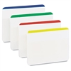 Post-it File Tabs, 2 x 1 1/2, Lined, Assorted Primary Colors, 24/Pack