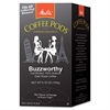 Melitta Coffee Pods, Buzzworthy (Dark Roast), 18 Pods/Box